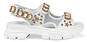 Gucci Women's Aguru Jeweled Sandal