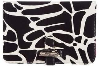Diane von Furstenberg Printed Canvas Kindle Clutch