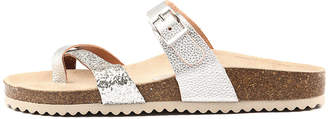 Sofia cruz Yikes Glitter multi Sandals Womens Shoes Casual Sandals-flat Sandals