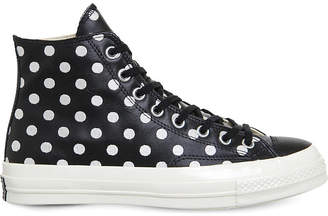 Converse ox 70s leather high-tops