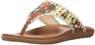 The Sak Women's Sarria artist Flip Flop