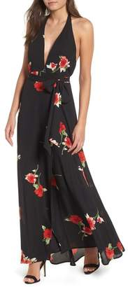 Leith Halter Maxi Dress