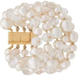 Celine Pre-Owned 1980/1990's pearl embellished bracelet