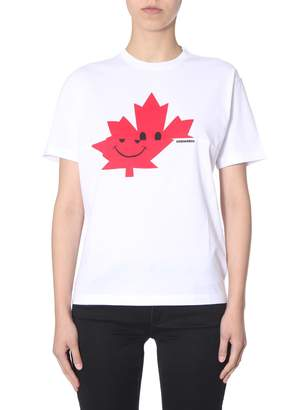 DSQUARED2 new diana fit t-shirt