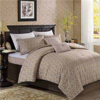 Hotel Collection S Luxury Cotton 3 Pieces Floral Pattern Duvet Cover Set, Includes 1 Comforter Cover 2 Pillow Shams