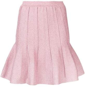 Alberta Ferretti ruffled mini skirt
