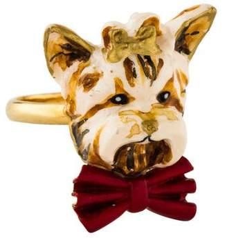 Dolce & Gabbana Resin Dog Ring