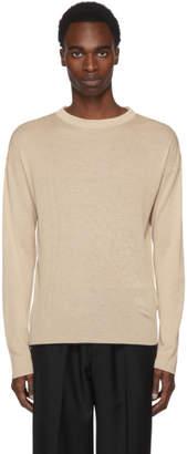 Jil Sander Beige Silk Sweater