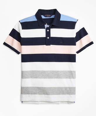 Brooks Brothers Original Fit Roadmap Bold Stripe Polo Shirt