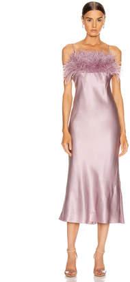 Cinq à Sept Cerise Dress in Sea Fog | FWRD