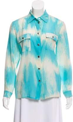 Celine Long Sleeve Tie-Dye Top