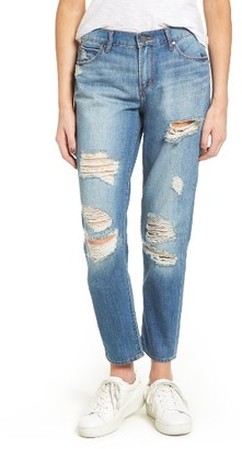 Women's Articles Of Society Carrie Ripped Crop Jeans $68 thestylecure.com