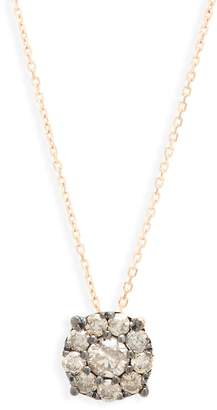 Suzanne Kalan Women's Diamond and 14K Rose Gold Pendant Necklace