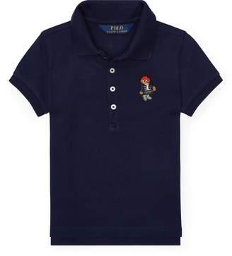 Ralph Lauren Polo Bear Mesh Polo Shirt