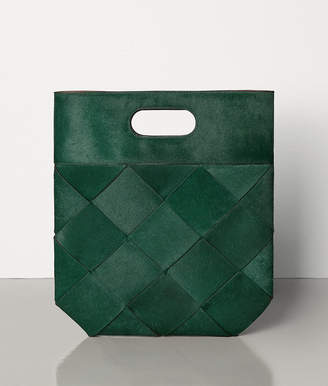 Bottega Veneta SMALL SLIP TOTE IN PONY LUX
