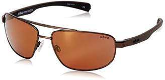 Revo Wraith RE 1018 Polarized Rectangular Sunglasses