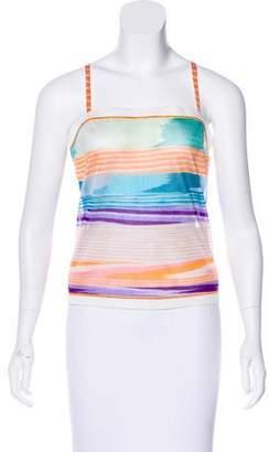 Missoni Sleeveless Striped Top