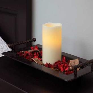 Three Posts Melted Wax Pillar Candle
