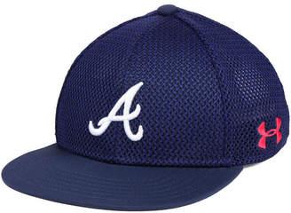 Under Armour Boys' Atlanta Braves Twist Cap