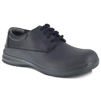 Grabbers Men's LiteRush G0024 Slip Resistant Lightweight Lace Up Oxford Food Service Shoe