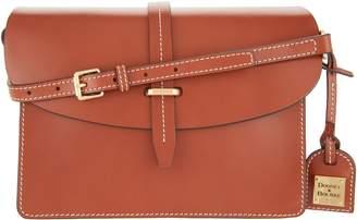 Dooney & Bourke Selleria Florentine Leather Flap Crossbody
