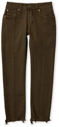 7 For All Mankind Girls 7-16) Frayed Hem Skinny Ankle Jeans