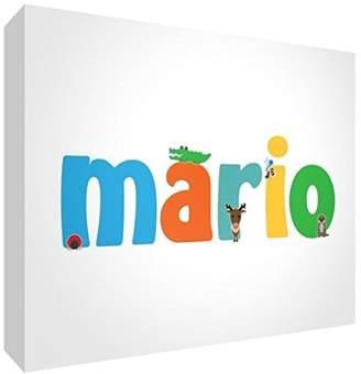 Keepsake Little Helper Baby Mario 515BLK 15De Diamond Polished Boy/Token Personalised with a name, Mario