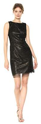 Betsey Johnson Women's Sleeveless Sequin Sheath Dress