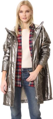 Belstaff Rivingten Metallic Coat $1,195 thestylecure.com