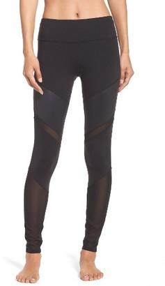 Women's Alo 'Sheila' Colorblock Leggings $108 thestylecure.com