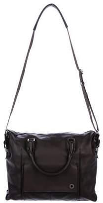 Montblanc Textured Leather Messenger Bag