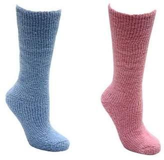 Muk Luks Women's Micro Chenille Knee-High Socks