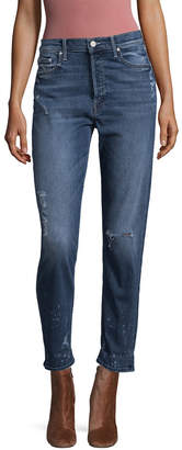 Mother Cheeky Cropped Jean