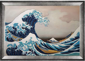 The Great Overstock Art Wave Off Kanagawa By Katsushika Hokusai Oil Reproduction