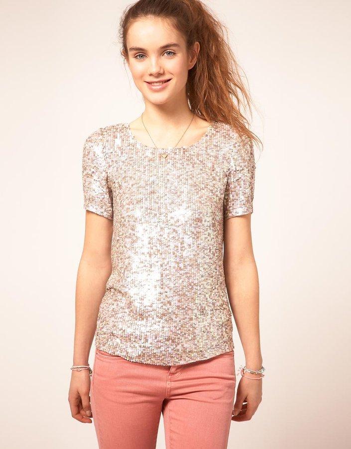 A Wear Sequin T-Shirt