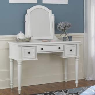 Home Styles Bermuda 2-pc. Vanity Table & Mirror Set