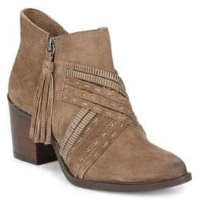 Naughty Monkey Noah Suede Booties