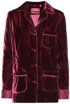 F.R.S For Restless Sleepers Rea velvet shirt