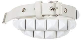 Devi Kroell Stud-Embellished Waist Belt
