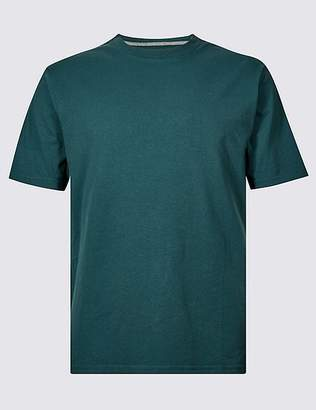 Marks and Spencer Pure Cotton T-Shirt with Cool ComfortTM