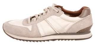 Frye Leather Low-Top Sneakers