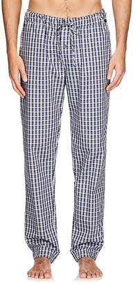 Hanro Men's Night & Day Plaid Cotton Lounge Pants