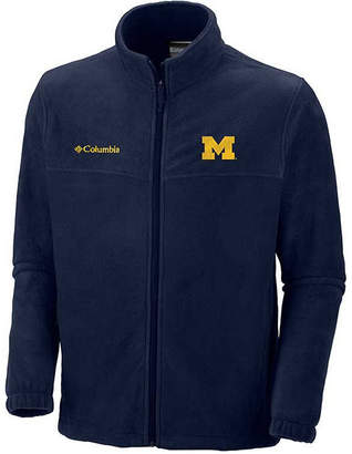Columbia Men's Michigan Wolverines Flanker Full Zip Jacket
