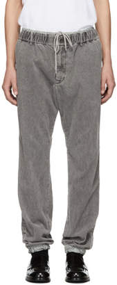 Sacai Grey Corduroy Trousers