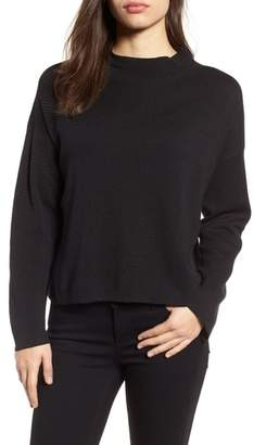 Eileen Fisher Silk & Organic Cotton Jacquard Top