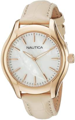 Nautica Women's NAD12000M NCT 18 MID Analog Display Quartz Watch