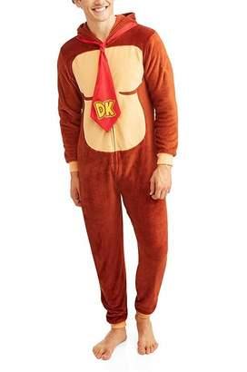 e0313345c614 Nintendo Super Mario Donkey Kong Onesie Pajama for men (Small Medium)
