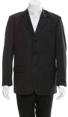 Louis Vuitton Super 130'S Wool Three-Button Blazer