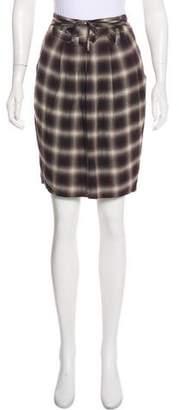 3.1 Phillip Lim Plaid Knee-Length Skirt w/ Tags