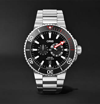 Oris Aquis Regulateur Der Meistertaucher Automatic 43.5mm Titanium Watch